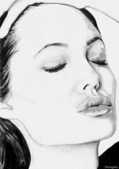 Angelina Jolie by Danyka